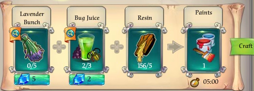 Fairy Kingdom -- Paints recipe