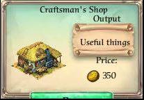 Craftsman's shop