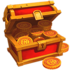 Chest of coins