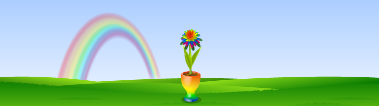 Bg rainbowbutterfly