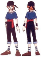 Nami second outfit first episode