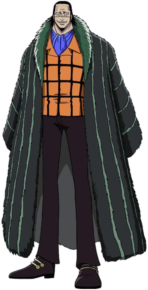 One Piece Shichibuk Sir Crocodile Cosplay black Costume coat+top+pant Any Size