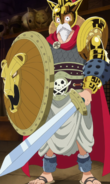 Luffy Gladiator First Outfit