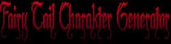 Fairy Tail Charakter Generator Wiki