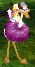 Scudding Bird