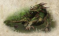 Earth Dragon by Athayar