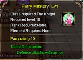 Parry (2nd)