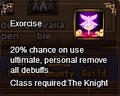 Exorise (S rank)