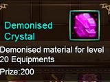 Demonised Crystal