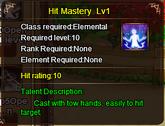 Hit Mastery