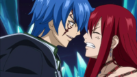 Jellal speaks with the connected Erza