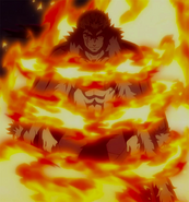 Laxus hit by Whoosh
