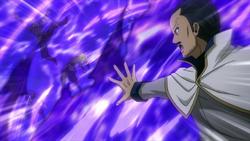 Macao peleando contra Alvarez