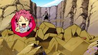 Natsu cooking monsters