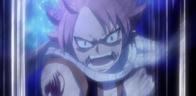 Natsu nakazuje przyjaciołom by zniszczyli Dragonoida z nim