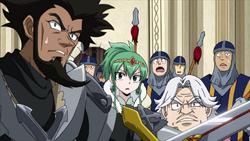 Thoma, Hisui y Arcadios observan a Irene