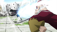 Irene is struck by Erza