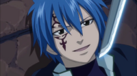 Jellal recognizes the obsession
