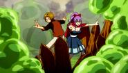 Max and Laki fighting