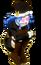 Juvia hugging her legs lol