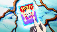 Help Lucy card anime