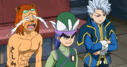 Lyon, Yuka y Toby contentos por el gran combate