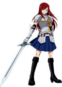 Heart Kreuz Armor Segundo Modelo anime