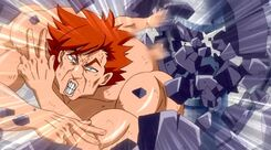 Ichiya destruyendo una lacrima