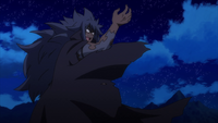 Irene attacked by Acnologia
