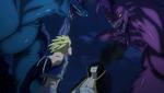 Dragones Gemelos vs. Scissor Runner y Levia