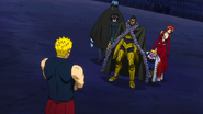 Laxus vs Team Raven Tail