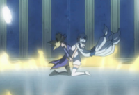 Lucy and Yukino combine their powers