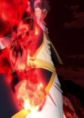 Natsu en Modo Rey Dragón de Fuego