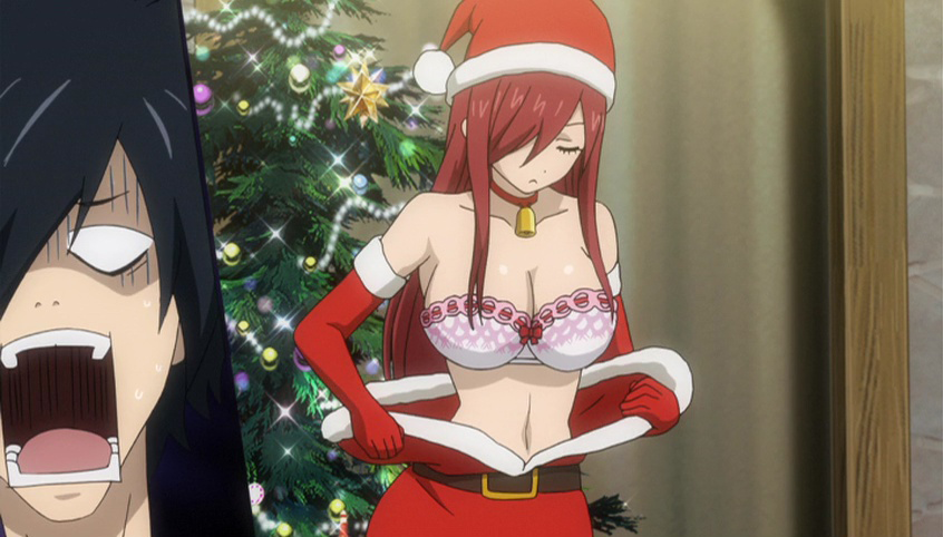 Erza Accepts Grays Order