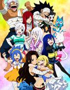 Fairy Tail celebrates