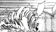 Lucy summons Aquarius using Juvia (manga)