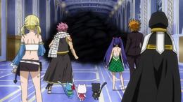La sombra aparece ante los magos de Fairy Tail