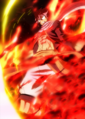 Natsu's Fire Dragon King Mode