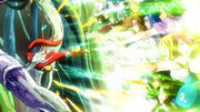 Eruza-sama con la fuerza de Fairy Tail