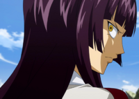 Kagura threatens Erza