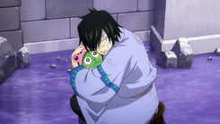 Rogue protects Frosch