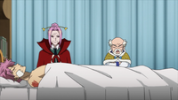 Makarov complains about Natsu's actions