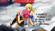 Natsu and Lucy in OP 10