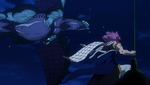 Natsu reaparece ante Rogue
