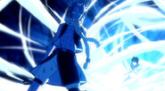 Natsu stands before Gray