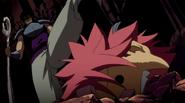 Natsu under Byro's boot