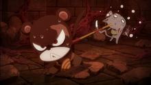 Pantherlily intenta ayudar a Happy