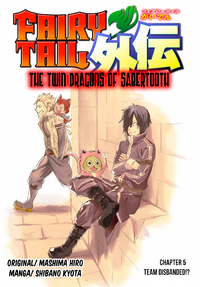 The Twin Dragons of Sabertooth 5 Cover