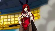 Erza's casino outfit