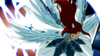 Erza defeats Aria